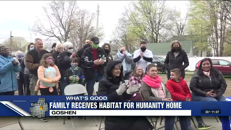 Single mom receives Habitat for Humanity home