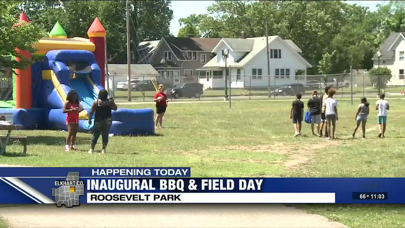 The inaugural Community BBQ & Field Day took place in Elkhart Sunday.