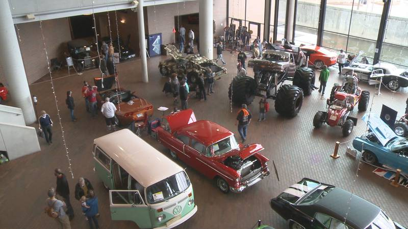 U-93 hosted the Auto show, a tradition that goes back generations in South Bend