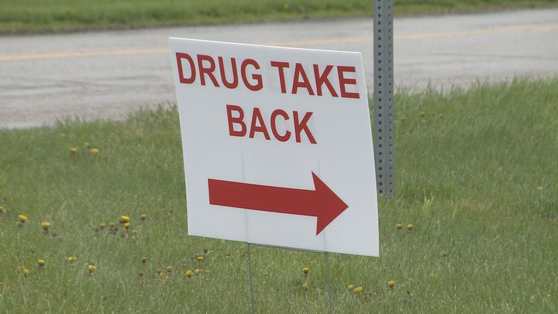 It is National Prescription Drug Take Back Day, and Indiana State Police has partnered with the...