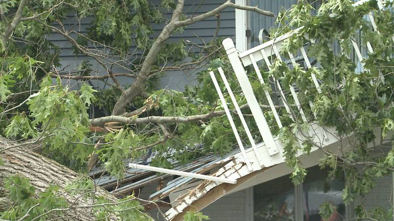 We are continuing to follow the aftermath of this weekend's severe weather throughout Michiana.